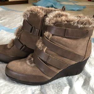 Aerosoles winter booties.